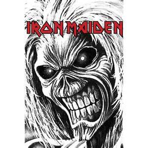 Seatbelt Bags Chic Iron Maiden Killers Allover T Shirt White Dake Eforiakoi Gr