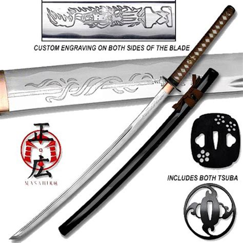 Handmade Swords Review - masahiro shadow warrior handmade katana plum edition sword