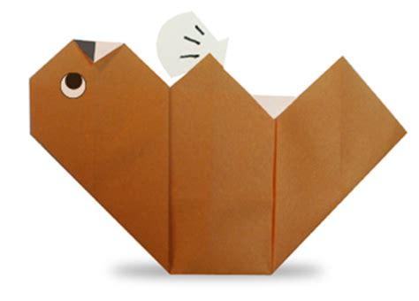 Origami Otter - origami sea otter