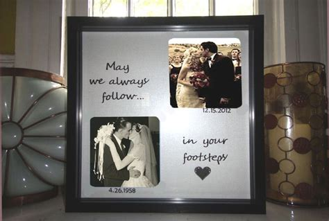 parents anniversary gift wedding gift for parents personalized frame custom shadow box frame