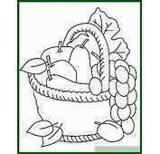 Imagenes De Canastas Frutas Para Dibujar Archivos