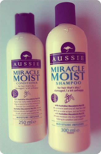 Review Aussie Moist Shoo by Afternoon Tea Aussie Miracle Moist Shoo And