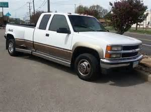 find used 1998 chevy silverado 3500 4x4 dually in girard
