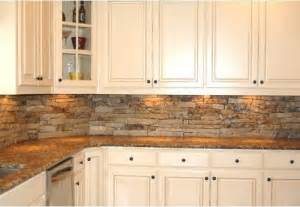 stone tile backsplash home design ideas for kitchen stacked contemporary