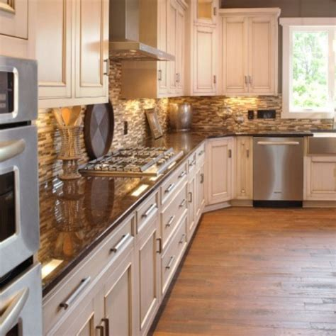 rustic hardware for kitchen cabinets rustic white cabinets with exposed hinges and stainless