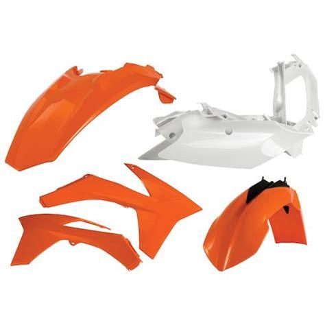 Ktm Plastic Acerbis Standard Plastic Kit Ktm Sx 65 2002 2008 Xc 65