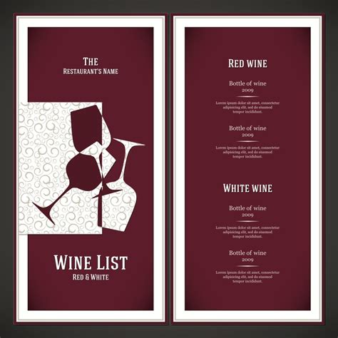 Dining By Design by Wine List