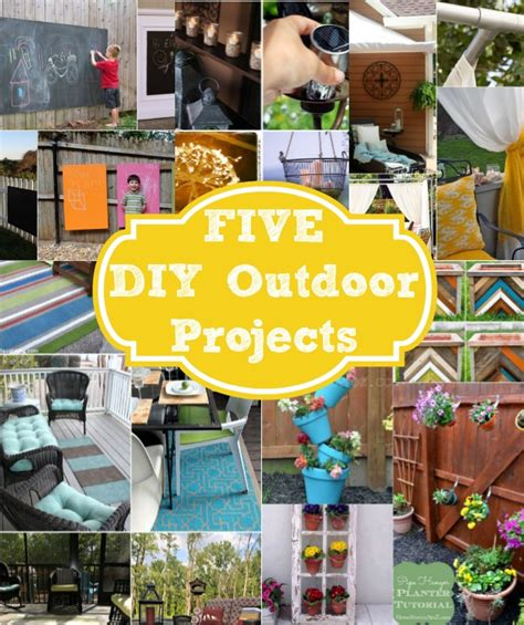 do it yourself backyard projects five do it yourself outdoor project ideas home stories a
