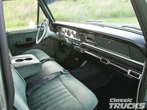 1972 Ford F100 Interior 301 moved permanently
