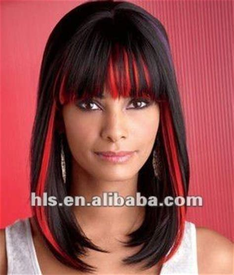 pelo rojo y negro | hair n' make up! | pinterest