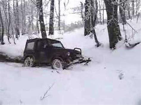 Snow Plow For Suzuki Samurai Suzuki Samurai Road In Snow