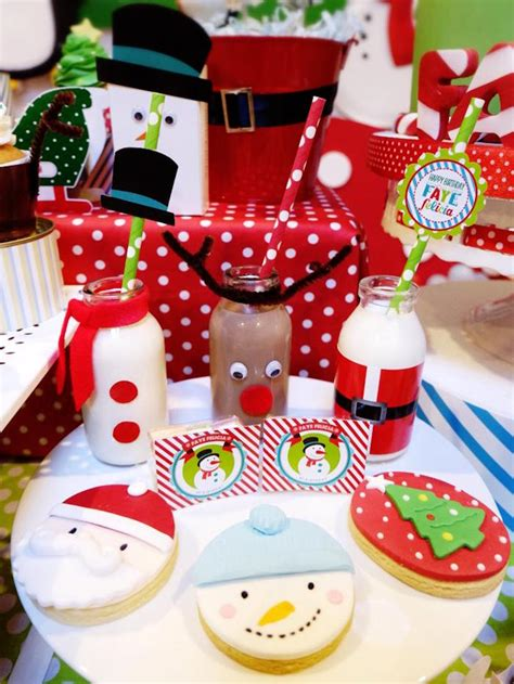 kara s party ideas christmas themed 10th birthday party