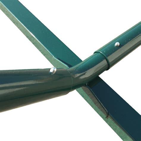 12 green hammock heavy duty metal steel frame