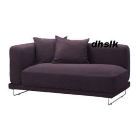 tylosand sofa cover ikea tylosand 2 seat 1 arm sofa cover rephult purple