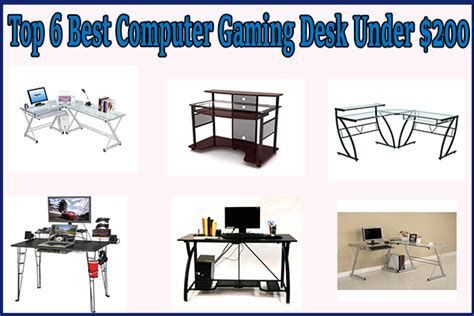 Best Pc Gaming Desk Top 6 Best Computer Gaming Desk 200 A Buying Guide Review Fanatic
