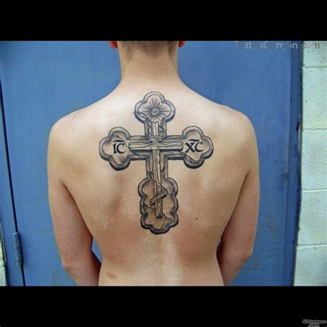 orthodox cross tattoo chest www pixshark com images