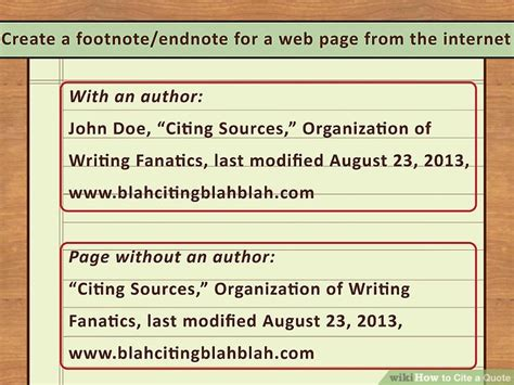 how to quote a website 4 easy ways to cite a quote with pictures wikihow