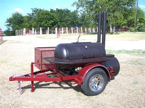 custom pit patio trailer johnson custom bbq smokers