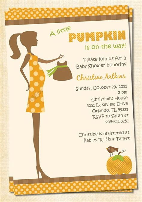 Fall Themed Baby Shower Invitations by Chic To Be Fall Baby Shower Invitation Digital Matching Stick