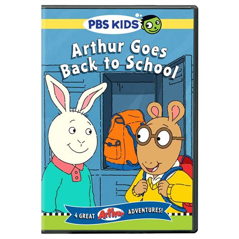 Goes Back To School by Arthur Goes Back To School Dvd In Our Spare Time