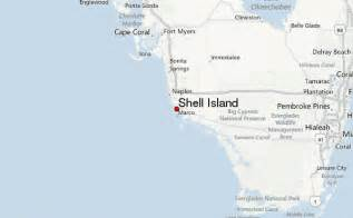 shell island weather forecast
