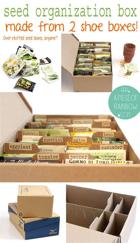 diy storage boxes from up cycled cardboard boxes hometalk make a seed box from upcycled shoe boxes best cardboard