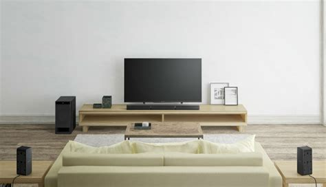 sony launches   home theater systems soundbars