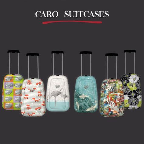 caro suitcase  leo sims sims  updates
