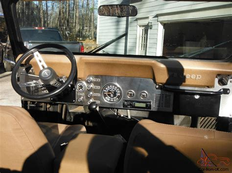 jeep golden eagle interior 1979 jeep cj5 golden eagle sport utility 2 door 5 0l