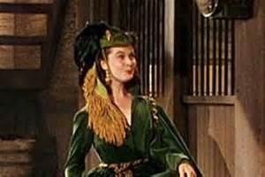 scarlett o hara curtain dress green curtain dress worn by vivien leigh as scarlett o
