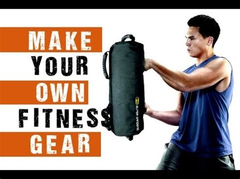 how to make your own home fitness equipment sandbag