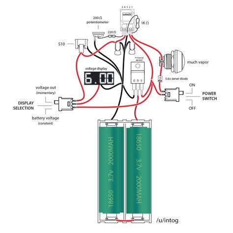 parallel box mod wiring diagram parallel diy wiring