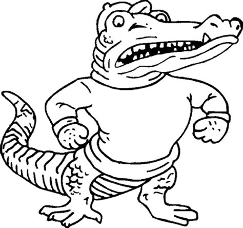 mascot library gators school mate 174