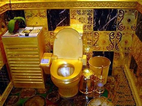 house made of gold the guinness world records public toilets made of gold