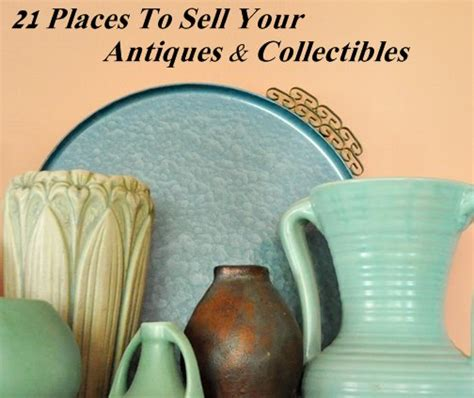 21 places to sell your antiques and collectibles where