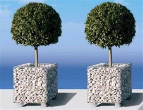 vasi ornamentali vasi ornamentali per giardini con gabbioni metallici