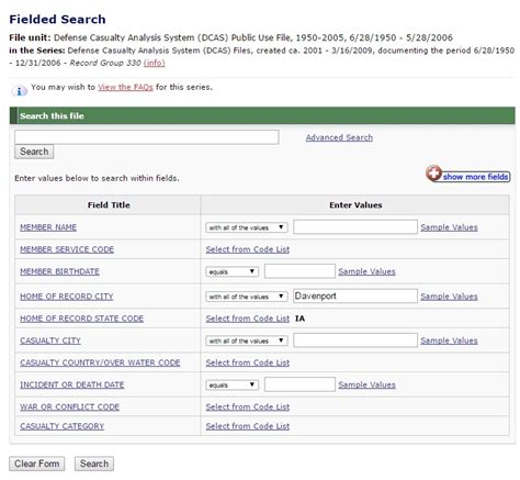 Search By Birthdate Search By Name And Date Of Birth Primary Selections From Special Collections