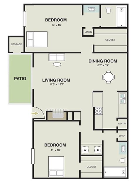 1000 square feet 2 bedrooms 2 batrooms 1 parking space 2 bedroom 2 bath 1000 sq ft