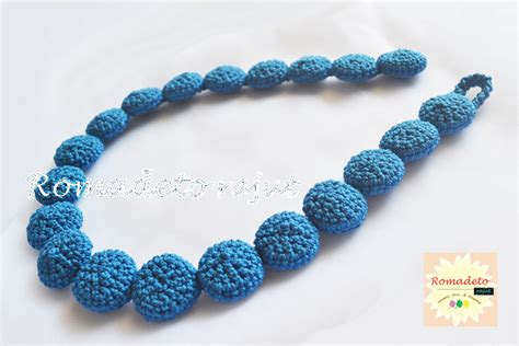 Kalung Fashion 264 harga kalung rajut cantik unik crocheted necklace