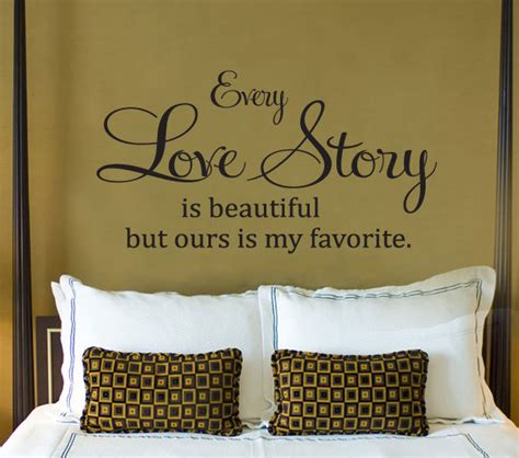 Wall Decal Every Story Is Beautiful Ours Is My Favorite every story is beautiful ours is my favorite quote vinyl wall decal sticker in wall
