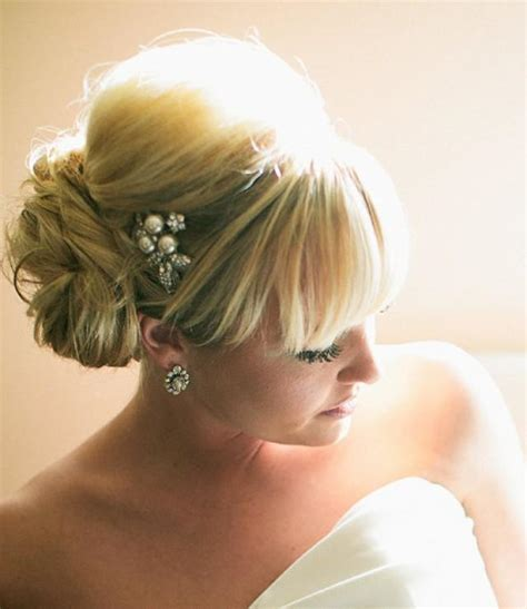 Wedding Hair For Rainy Day by Wedding Hairstyles With Pearls In Hair Rainy Day