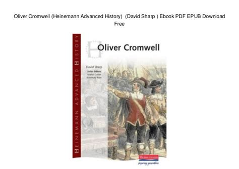 libro heinemann advanced history the oliver cromwell heinemann advanced history david sharp ebook pd
