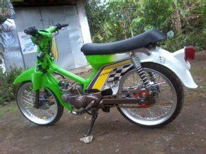 Foto Modifikasi Ulung by Honda C70 Modif Dengan Warna Hijau Boplo