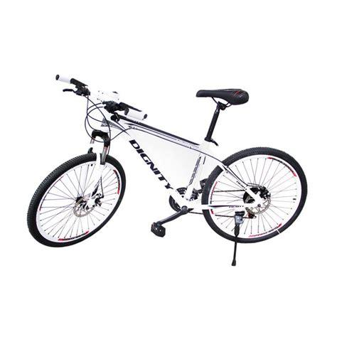 Sepeda Dignity Type Winner 1 jual selis dignity type allow sepeda mtb putih hitam