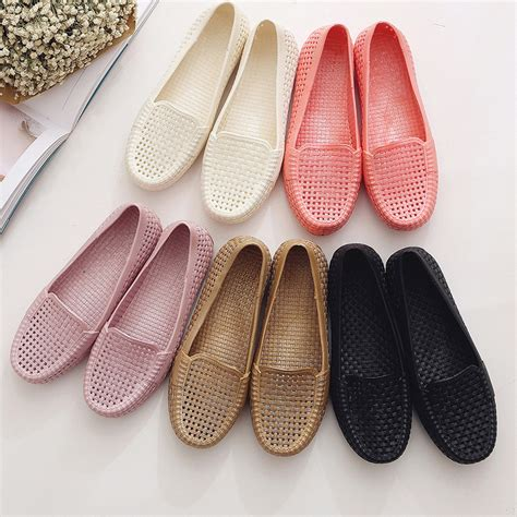 Sepatu Wanita Casual Heels Flat Clog Wedges Sandal 3 sale clogs slip on garden sandals jelly shoes summer cut outs flat casual shoes