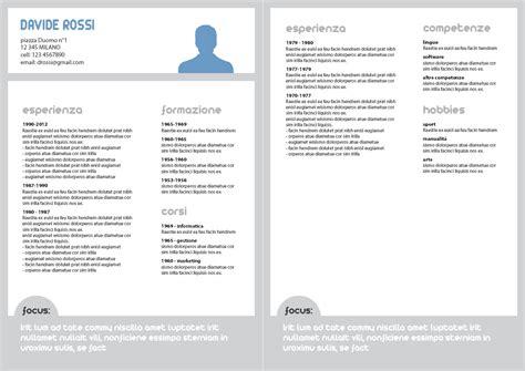 curriculum vitae design esempi fai scrivere il tuo cv ottieni un cv professionale e