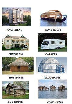 types of houses different types of houses project pinterest homework