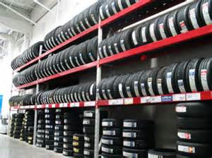 tire rack at baytires