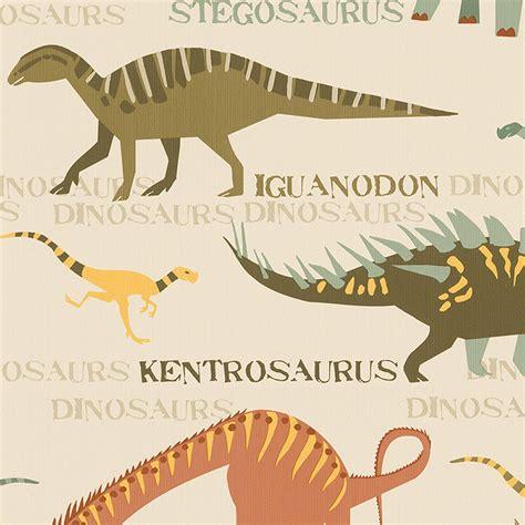 dinosaurier schlafzimmer tiere tapete kinder schlafzimmer dinosaurier fuchs