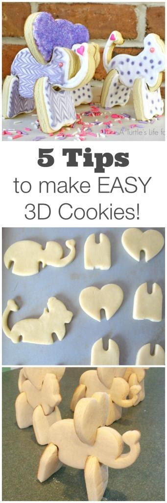 5 Simple Tips To Make 5 Easy Tips To Make 3d Cookies A Turtle S For Me